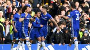 HD Chelsea celebrate Arsenal