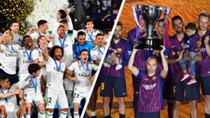 Real Madrid Barcelona Campeones