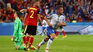 Emanuele Giaccherini Belgium Italy Euro 2016
