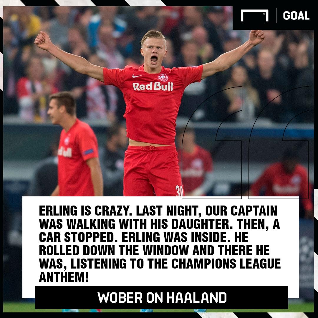 Erling Haaland Wober RB Salzburg PS