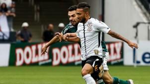 Bruno Henrique Clayson Corinthians Palmeiras 31032018 Paulista Final