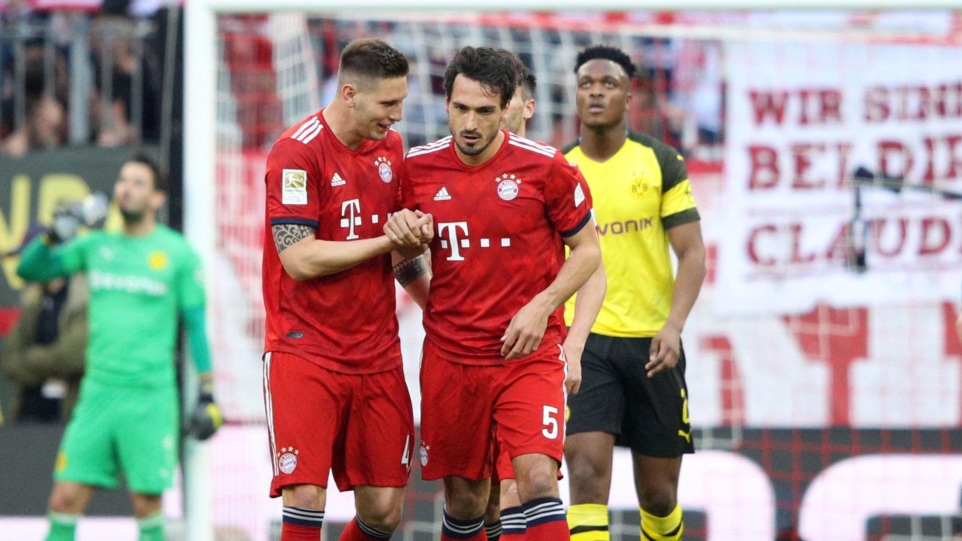 Bayern Dortmund 5:0
