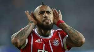 Arturo Vidal FC Schalke 04 Bayern Munchen Bundesliga 19092017