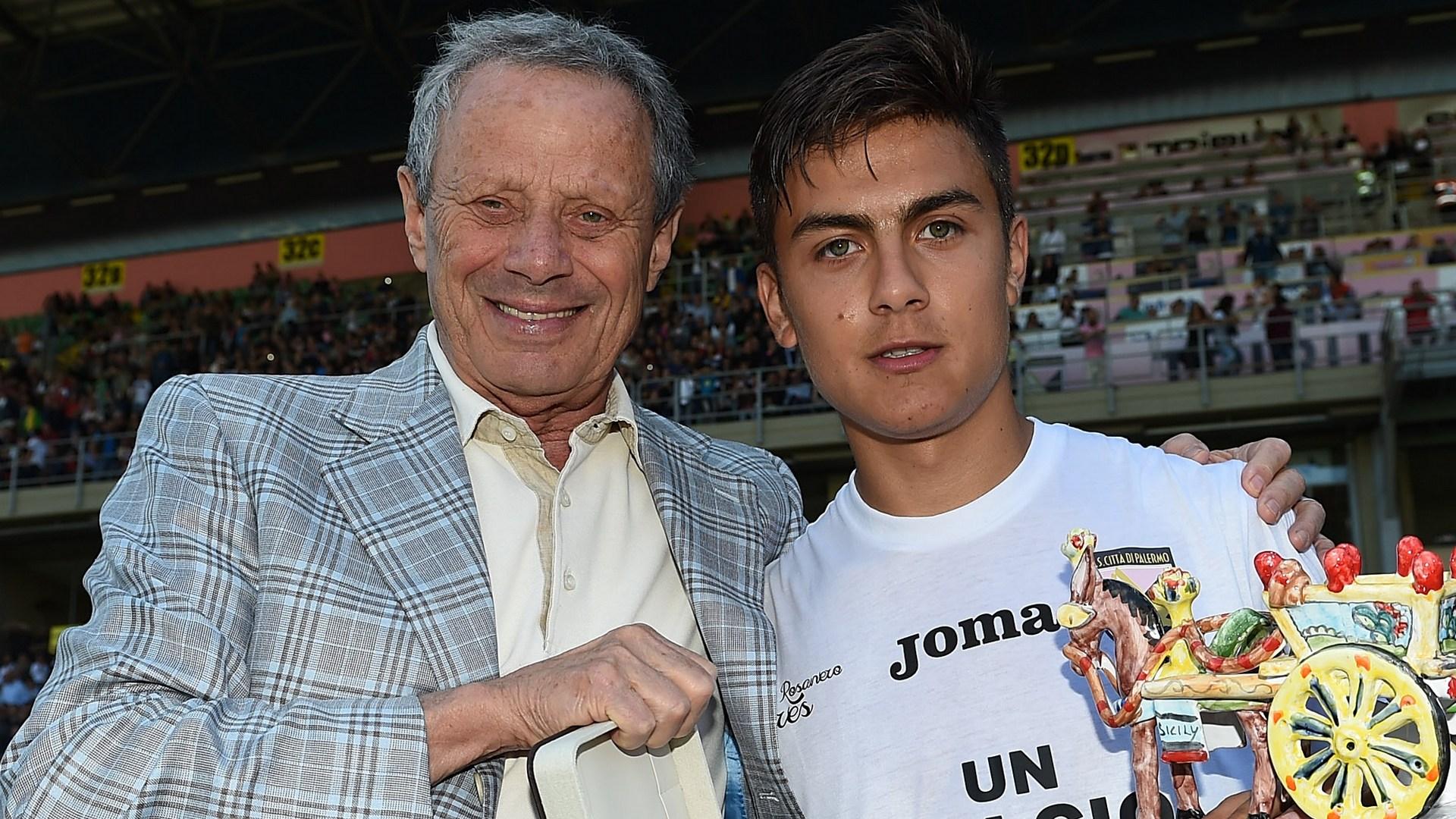 Maurizio Zamparini Paulo Dybala