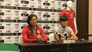 Kim Pan-Gon, Hong Kong, Asian Cup qualifier