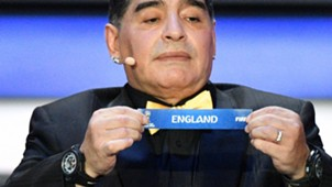 Maradona England FIFA World Cup 2018 draw