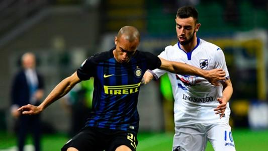 Miranda Bruno Fernandes Inter Sampdoria Serie A