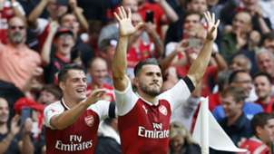 Kolasinac - Goal - Community Shield - Arsenal - Chelsea