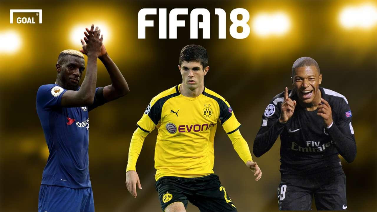 Most improved FIFA 18 BG