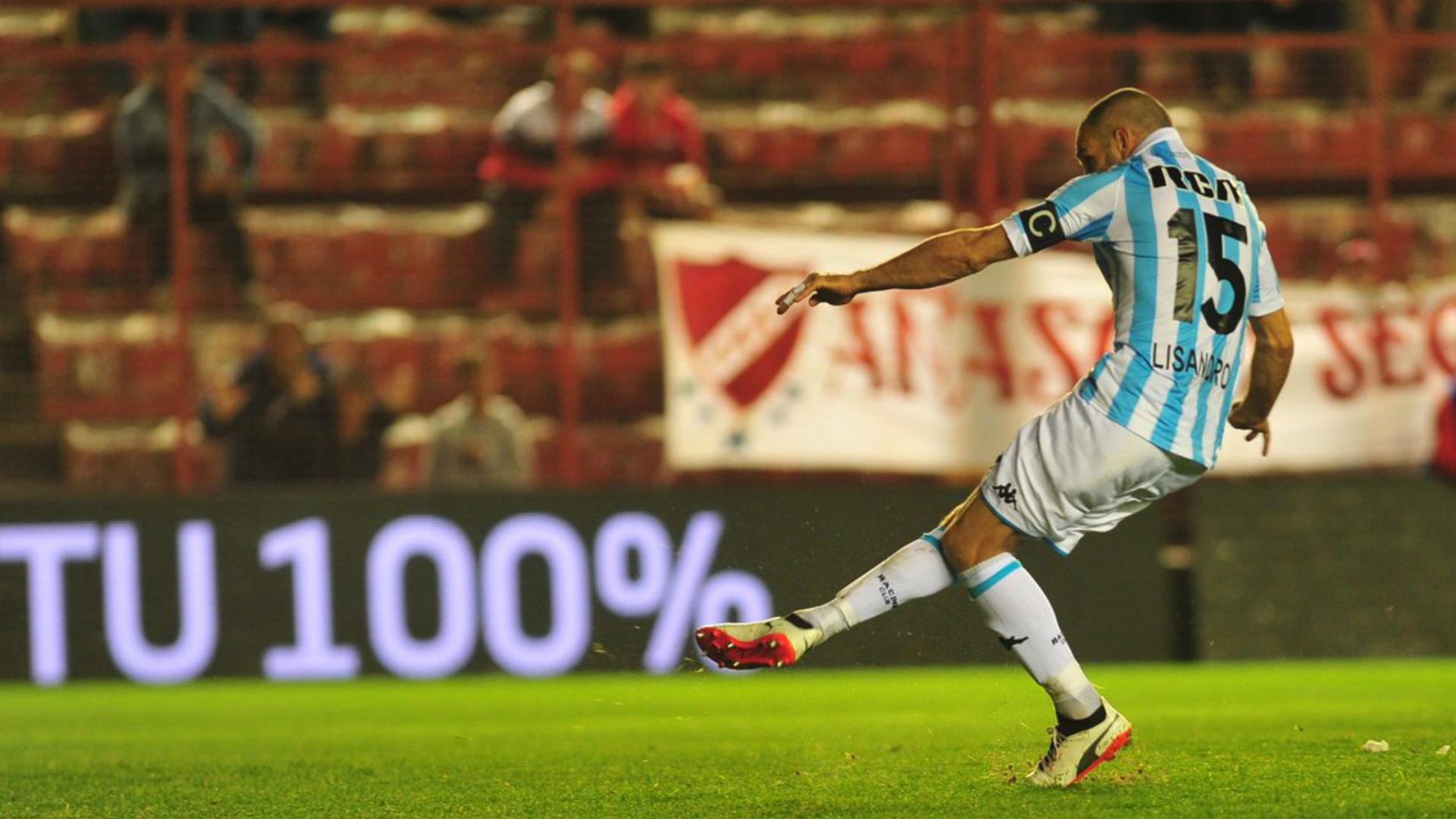 Licha Lisandro Lopez Racing Argentinos Juniors 29092018 Superliga