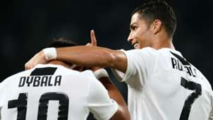 Dybala Cristiano Ronaldo Juventus Bologna 26 09 2018