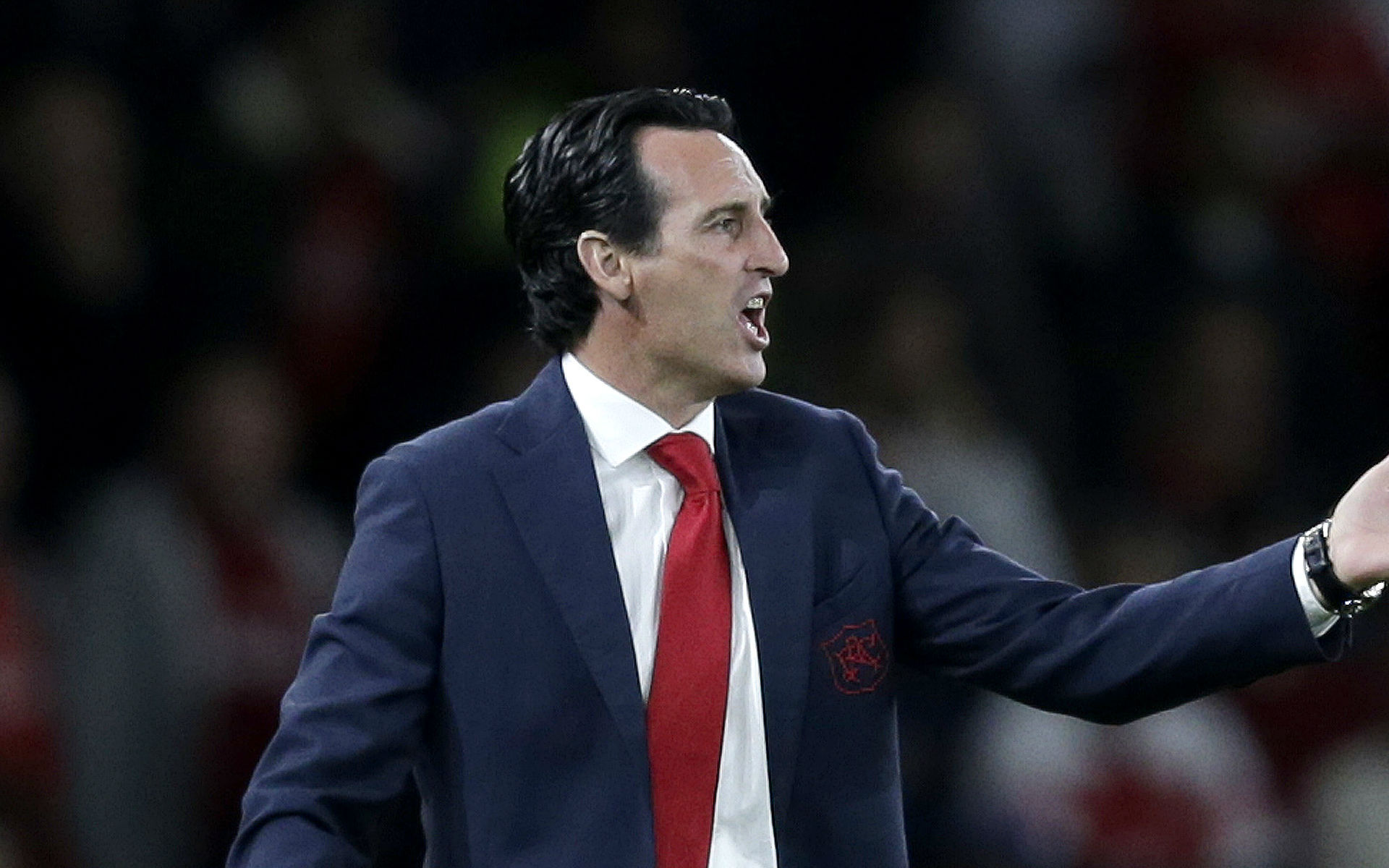 Unai Emery reveals what he tells his players before every match