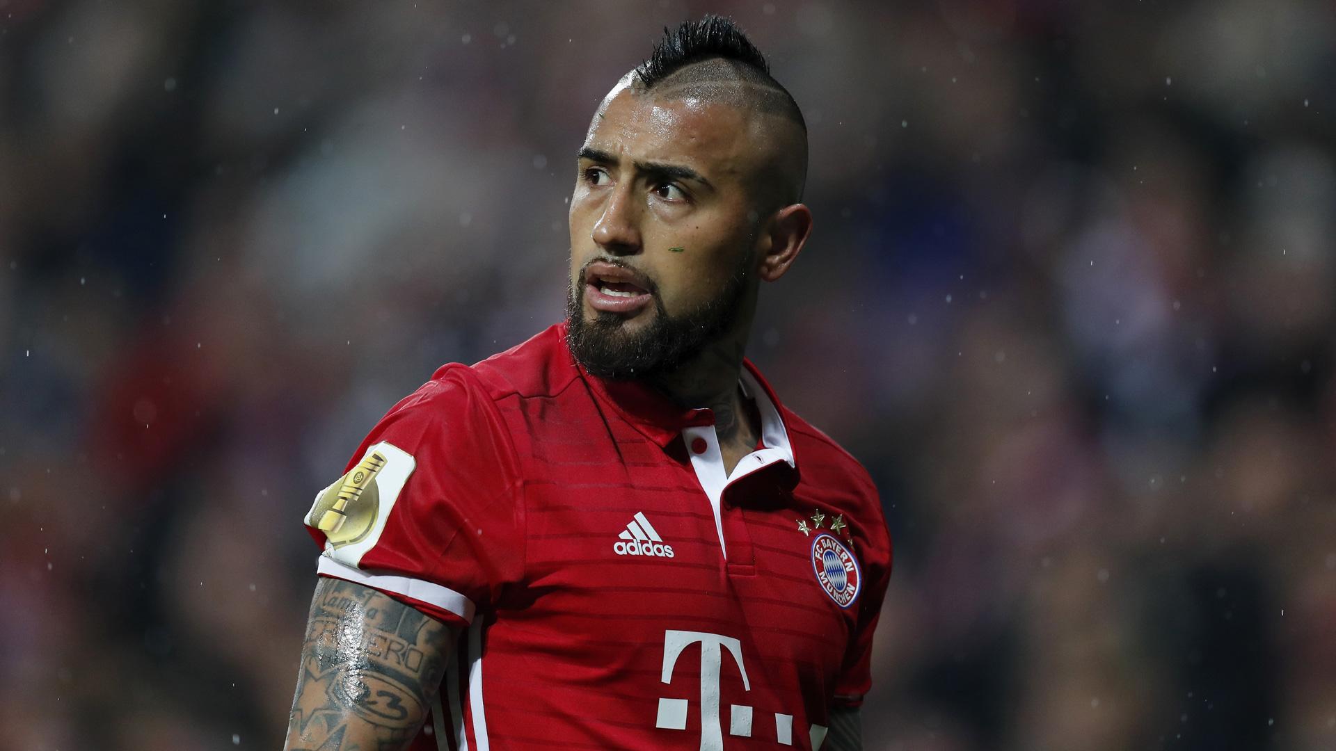 Arturo Vidal Bayern München 26042017