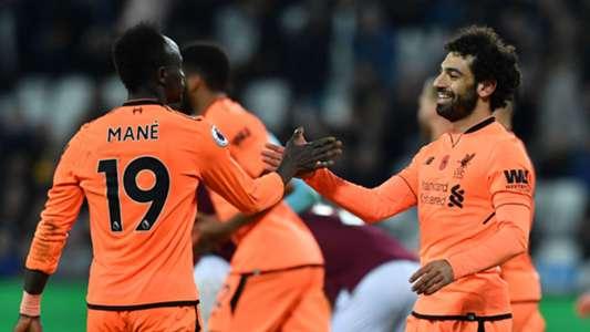 Sadio Mane Mohamed Salah Liverpool