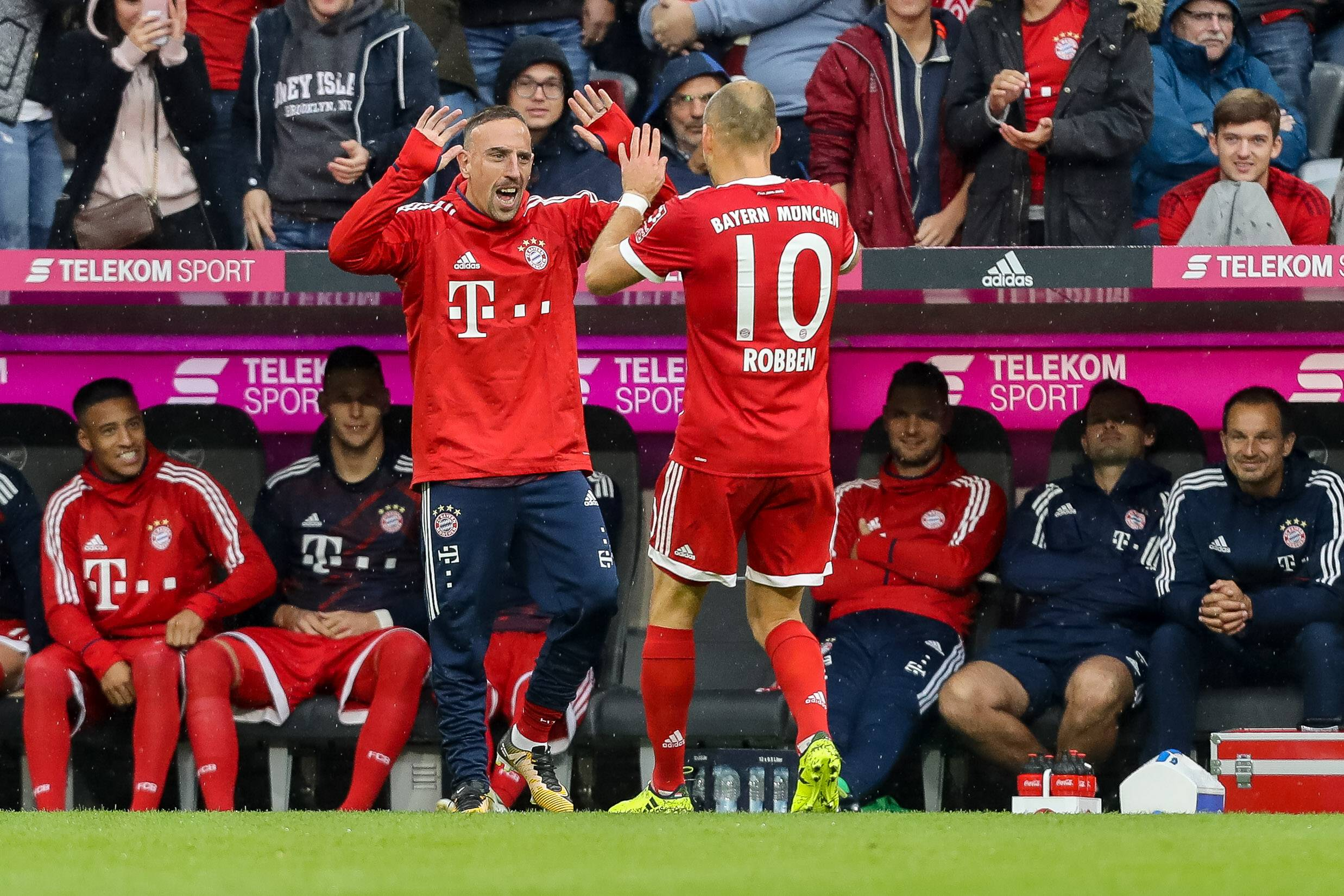 *GER ONLY / NO GAL* Franck Ribery Arjen Robben FC Bayern München Mainz 05