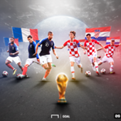 France Croatia World Cup final