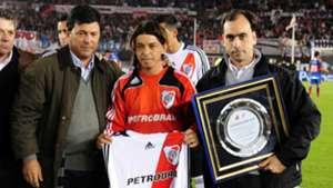 Daniel Passarella Marcelo Gallardo Diego Turnes River Plate Tigre 15052010