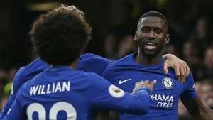 Antonio Rudiger Chelsea 2017