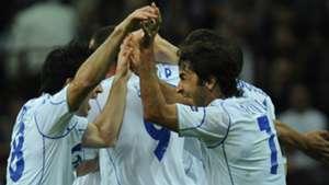 Raul Gonzalez Jose Manuel Jurado Schalke Inter Champions League