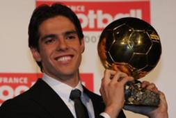 Kaka won Ballon d'or