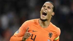 Virgil van Dijk Netherlands 2018-19