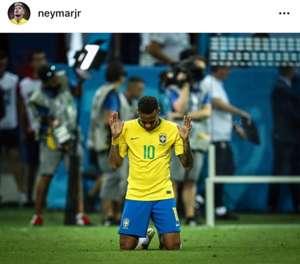 브라질 축구 국가대표팀 선수 네이마르. 사진=네이마르 인스타그램