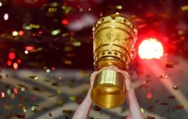 DFB Pokal Logo Trophäe Trophy