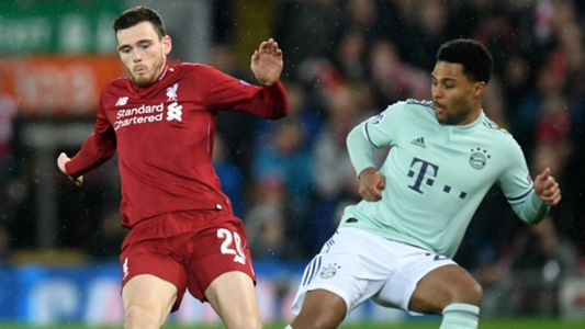 Liverpool 0-0 Bayern Munich: 'I've never seen Andrew Robertson get beat like that' - Andy Cole praises Serge Gnabry improvement