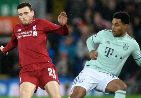 'Robertson has never been beaten like he was by Gnabry!'
