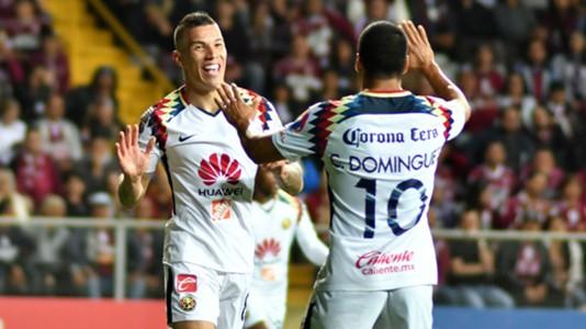 Mateus Uribe Cecilio Dominguez Club America
