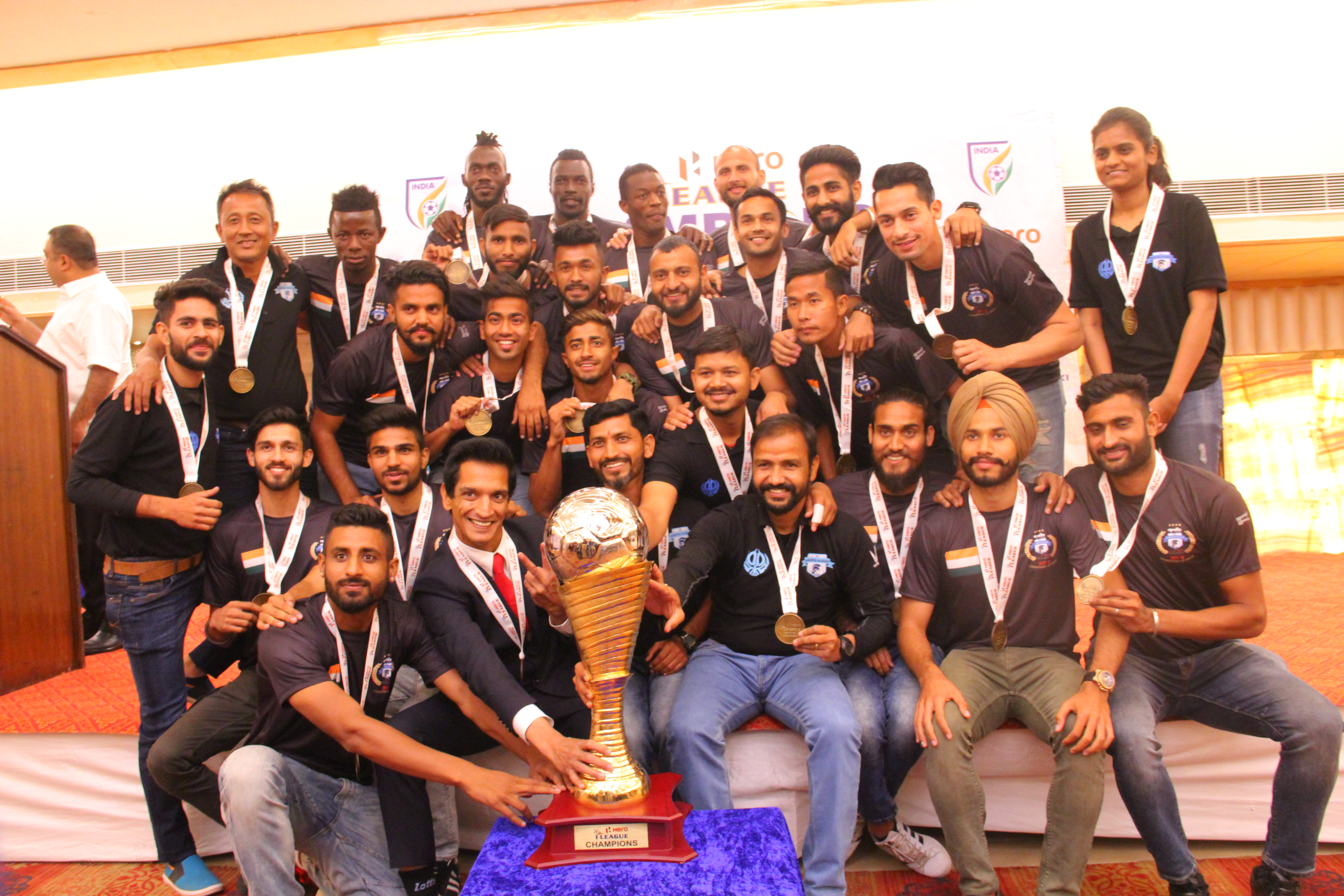 Minerva Punjab I-League trophy
