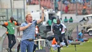 Hearts of Oak coach Frank Nuttall