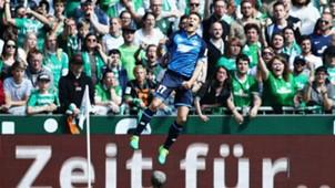 Andrej Kramaric Werder Bremen 1899 Hoffenheim Bundesliga 13052017