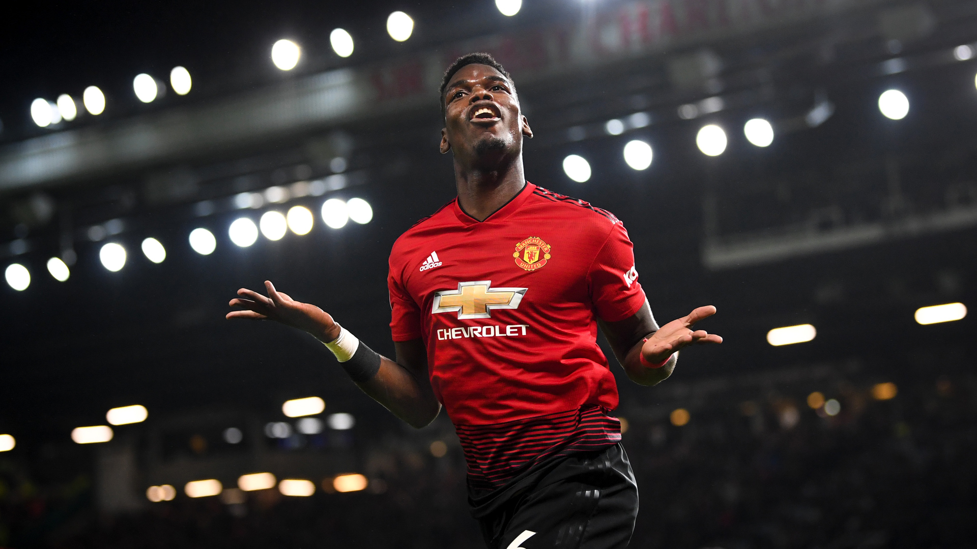 Manchester United Paul Pogba 30122018