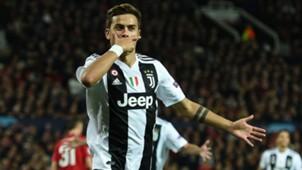 Paulo Dybala Manchester United Juventus UCL 24102018