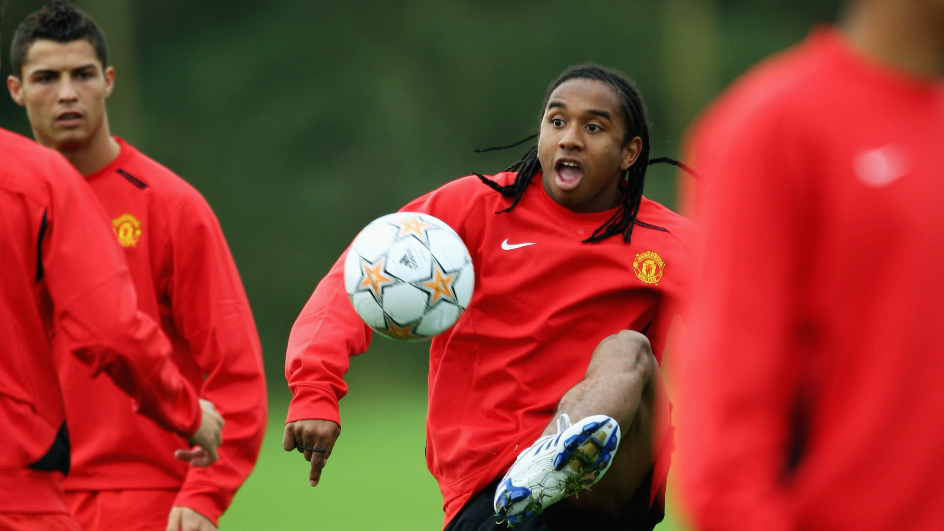 Anderson Manchester United 2007