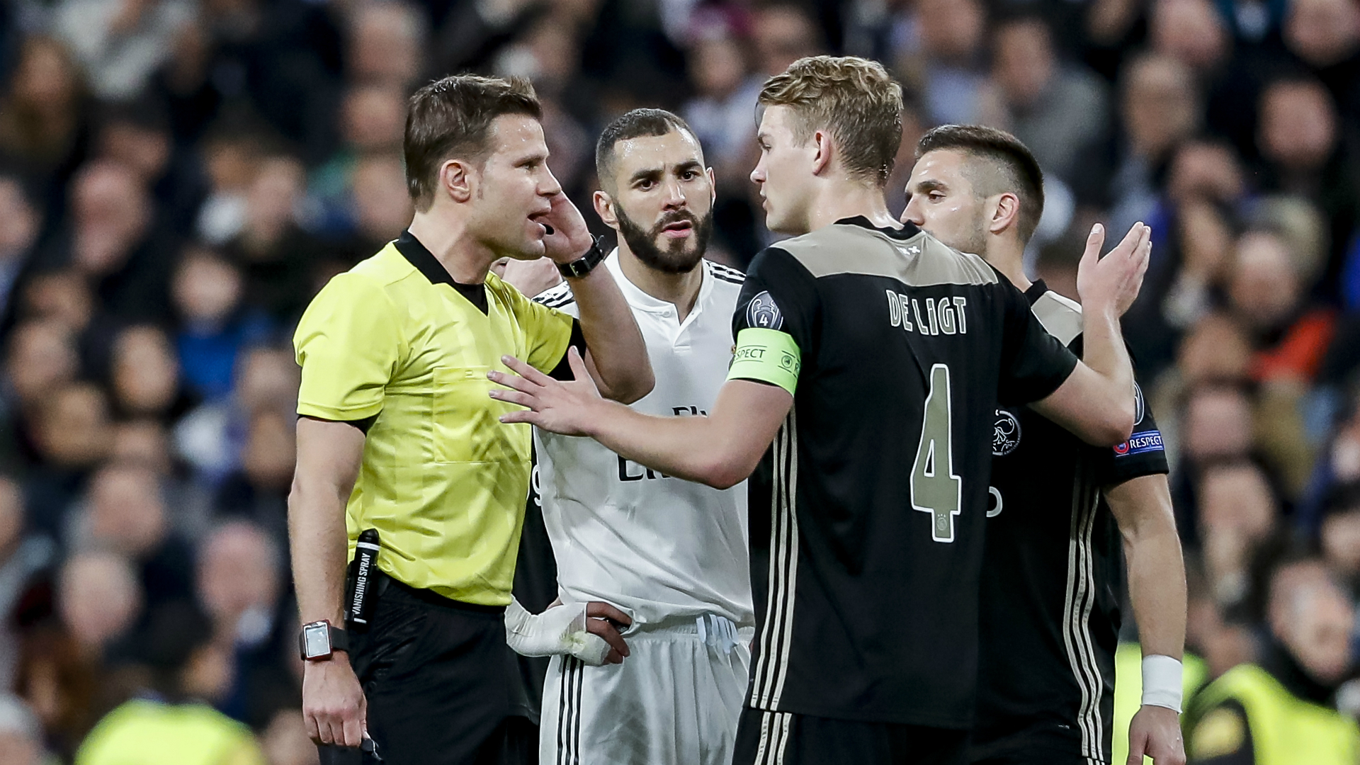 Felix Brych, Real Madrid - Ajax, 03052019