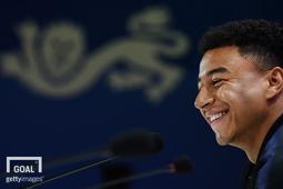 잉글랜드 축구 국가대표팀 미드필더 제시 린가드.