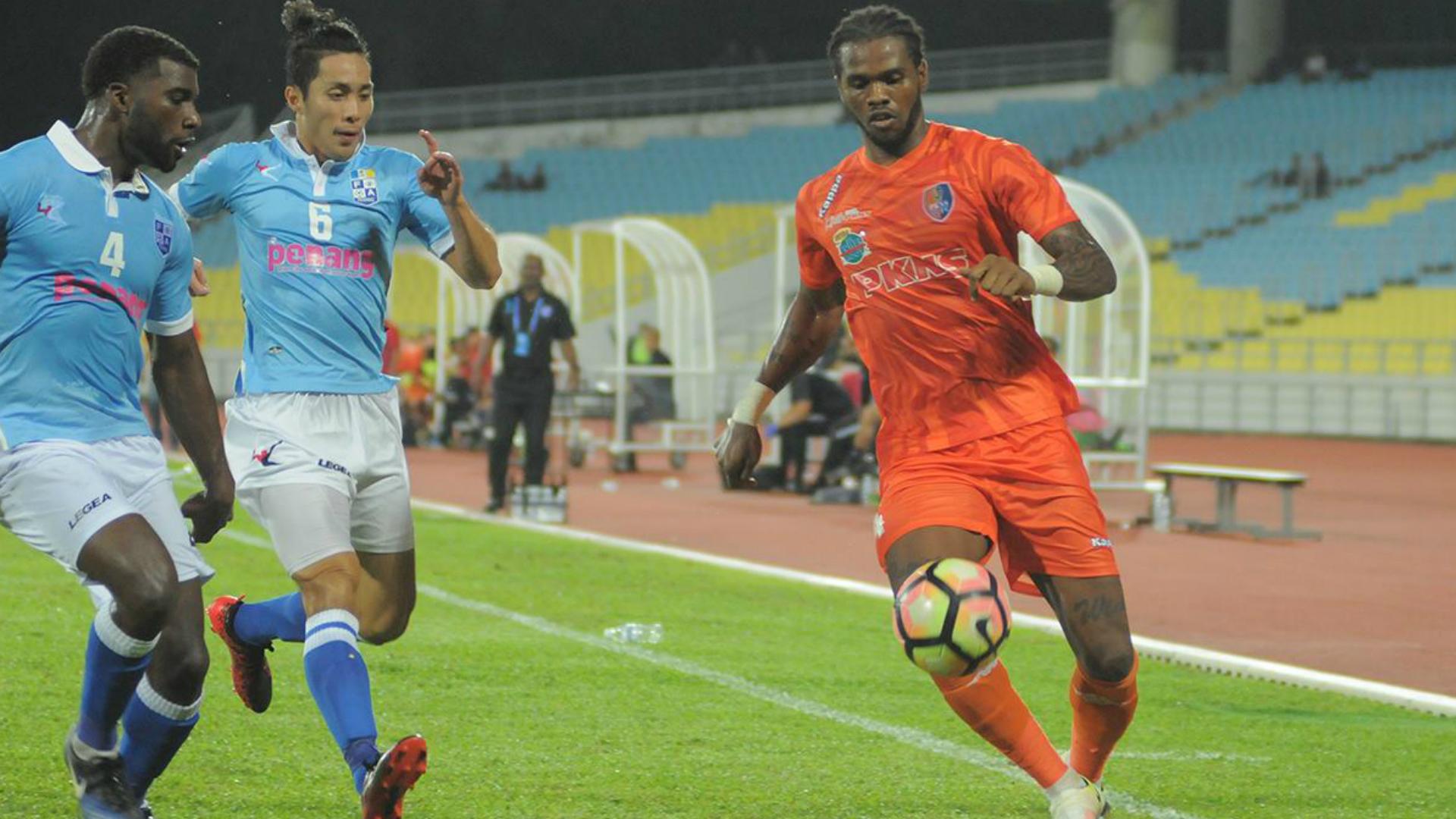 Patrick Ronaldinho Wleh, PKNS, Penang, Super League, 11/07/2017