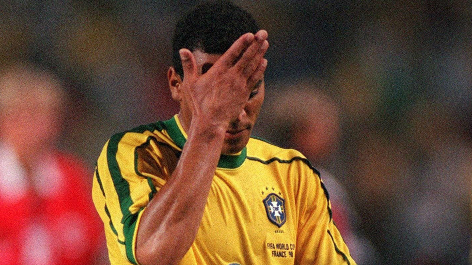 Cafu Brazil FIFA World Cup 1998