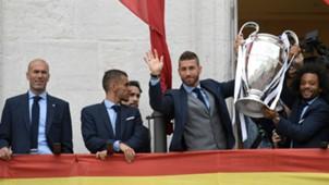 Ramos Zidane Marcelo Real Madrid Champions League