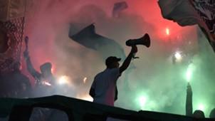 Supporters Ligue 1 France Saint-Etienne ASSE