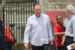 الخطيب في مران الأهلي