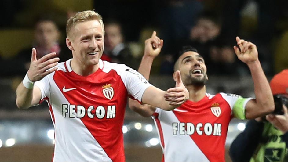 Kamil Glik Radamel Falcao Monaco Ligue 1
