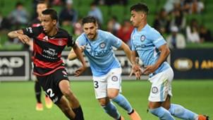 Keanu Baccus Western Sydney Wanderers