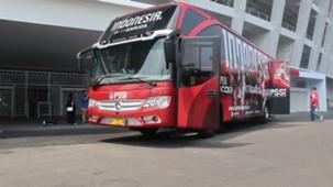 Peluncuran Bus Timnas Indonesia
