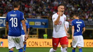 Piotr Zielinski Leonardo Bonucci Italy Poland UEFA Nations League 09072018