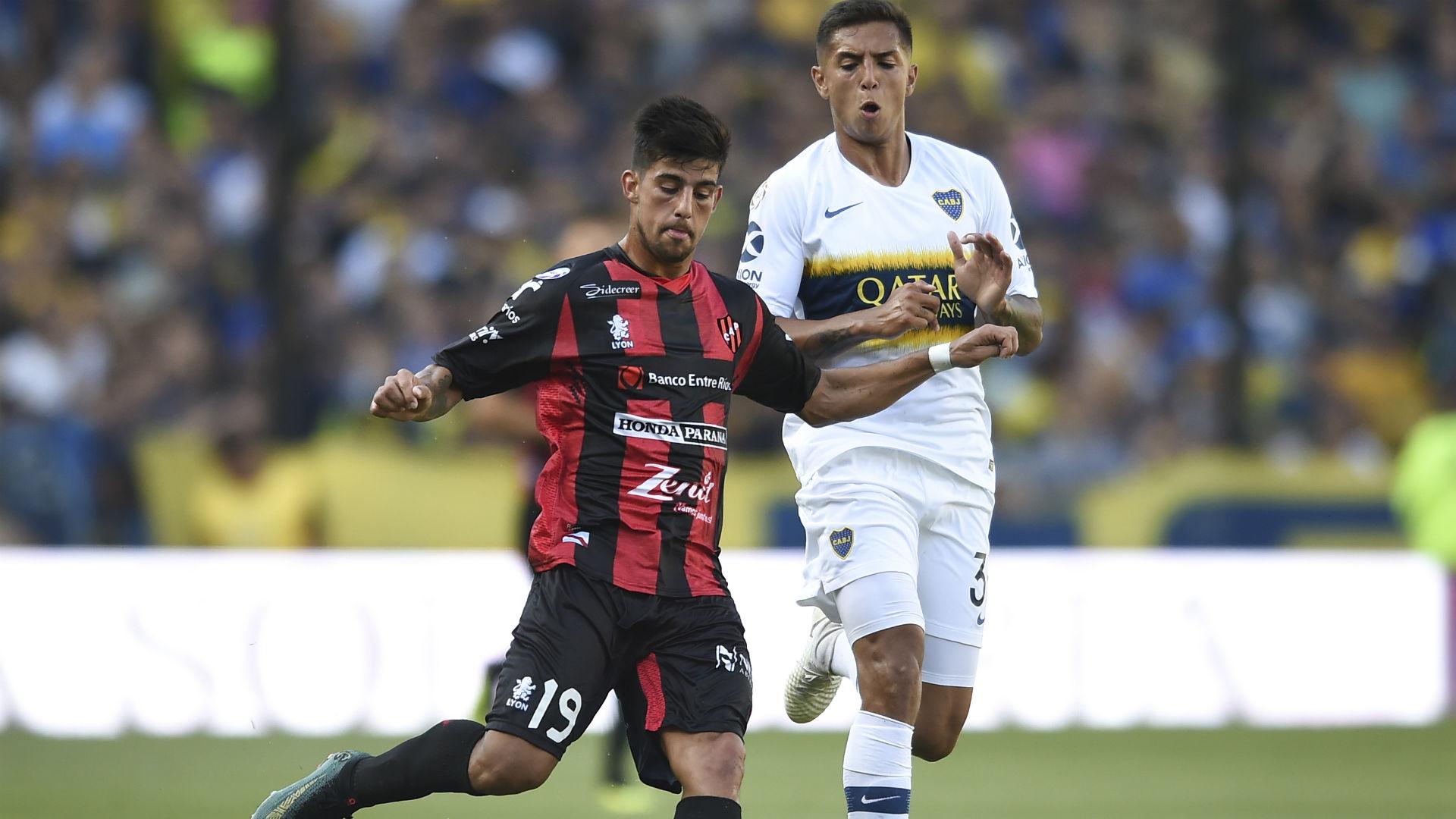 Brinone Agustin Almendra Boca Patronato Superliga 17112018
