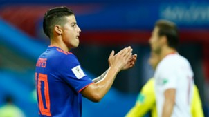 James Rodriguez Colombia World Cup 2018