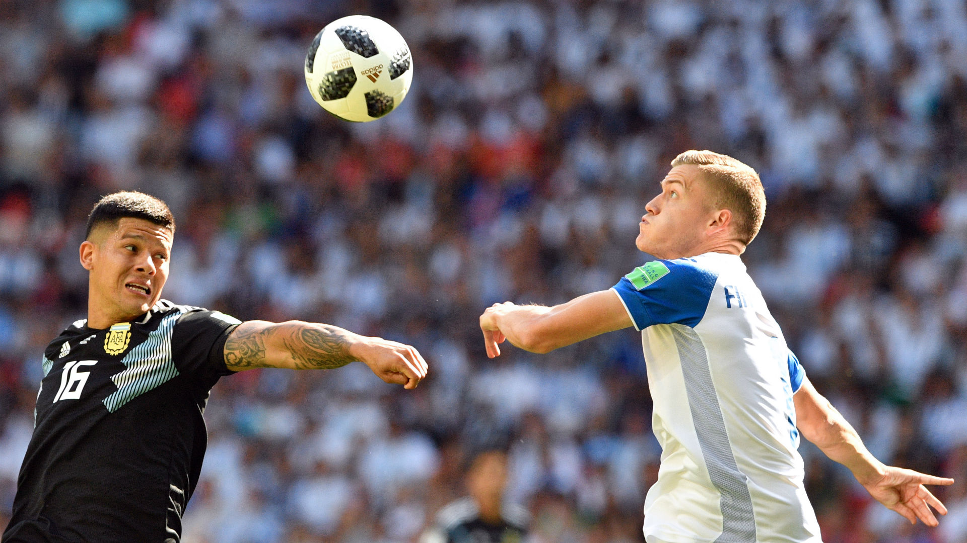 Marcos Rojo Argentina Islandia Iceland World Cup 16062018